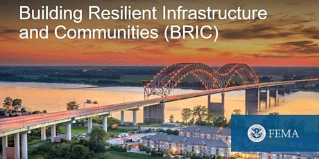 Introducing the Building Resilient Infrastructure and Communities Program tickets
