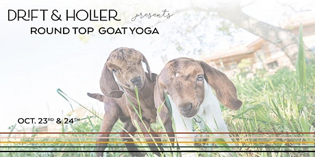 Round Top Goat Yoga tickets