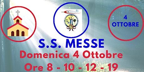 S.S. Messe DOMENICA 4 Ottobre 2020 biglietti