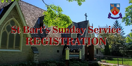 Sunday Service Registration tickets
