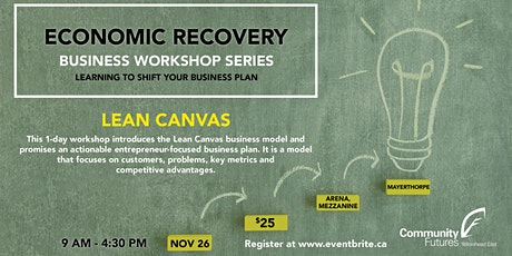 Lean Canvas Workshop tickets