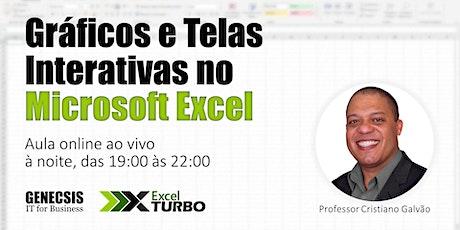 Gráficos e Telas Interativas no Microsoft Excel bilhetes