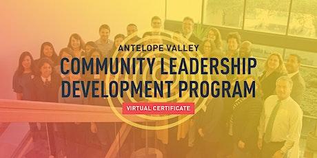 Community Leadership Development Program - Antelope Valley (7-months) tickets