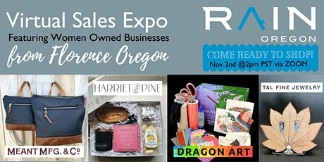 Virtual Sales Expo Featuring Women Owned Businesses from Florence Oregon tickets
