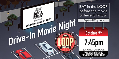 """""""Love The Loop"""" Drive-In Movie Featuring Ghostbusters (1984) tickets"""