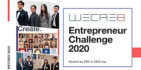 WECRE8 Entrepreneur Challenge 2020 tickets