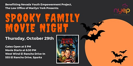 Law Office of Marilyn D. York Presents: Spooky Family Movie Night tickets