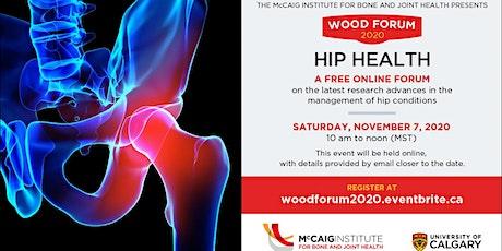 Online Wood Forum 2020: Hip Health tickets