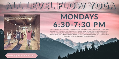 All Level Flow Mondays tickets