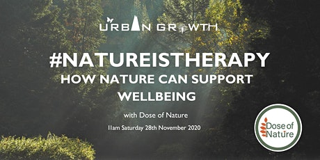 #NatureisTherapy: How Nature Can Support Wellbeing tickets