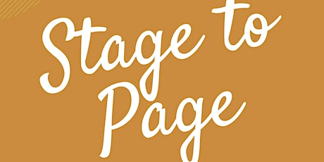 Stage to Page tickets