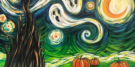 Van Gogh's Starry Night Halloween Virtual tickets
