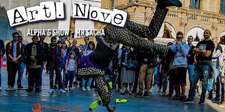 Alpha'g show - Mr Sacha biglietti
