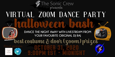 Halloween Bash - Virtual Zoom Dance Party tickets