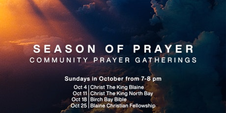 Season of Prayer Gathering - Oct. 25 tickets