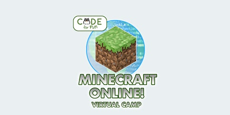 Programming with Minecraft - Virtual 3-day camp: 12/21 - 12/23 tickets