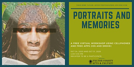 Virtual Workshop/Webinar-Cellphone Portraits and Memories using Apps tickets