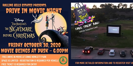 Movie In The Park - Nightmare Before Christmas tickets