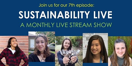 "Sustainability LIVE ""Youth  Activists PLUS Low-Impact Holidays!"" tickets"