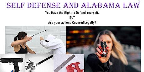 Fabulous Fit Fierce Women's Self Defense & AL Law 2hr Seminar tickets