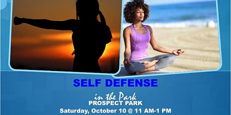 Self Defense in the Park tickets