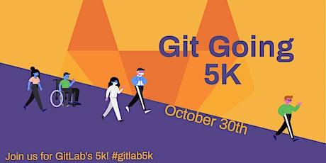 GitLab Git Going 5K tickets
