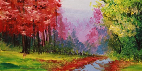 Chill & Paint Sat Afternoon  Auck CBD - Colourful Trees tickets
