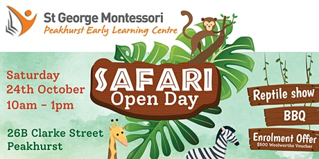 St George Montessori Peakhurst South Open Day 2020 tickets