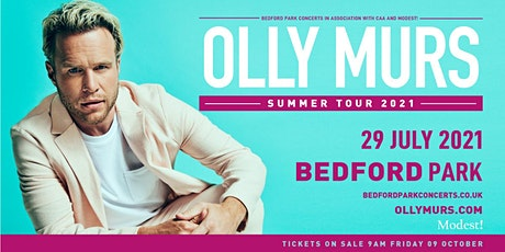 Olly Murs Live In Bedford Park tickets
