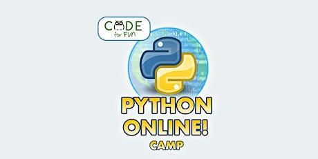 Python Programming - Virtual 3-day camp : 12/28 - 12/30 tickets