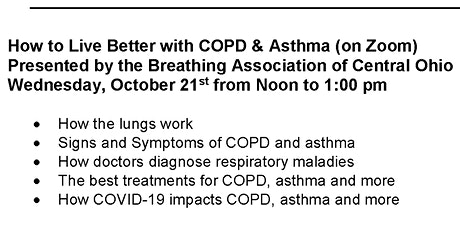 How to Live Better with COPD & Asthma (on Zoom)