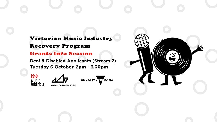 Music Victoria's Grants Session: Deaf & Disabled Applicants image