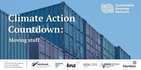 Climate Action Countdown: Moving stuff tickets