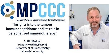 MPCCC Precision Oncology Seminar: Professor Tony Purcell tickets