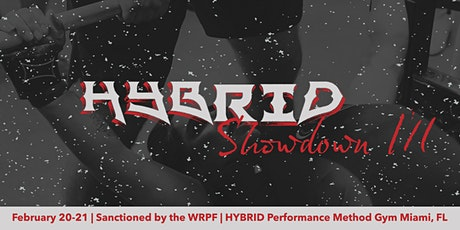 The Hybrid Showdown III tickets