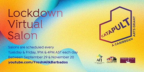 CATAPULT Lockdown Virtual Salons tickets