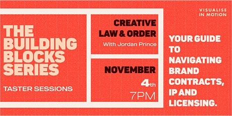 The Building Blocks Series Workshops: Creative Law & Order tickets