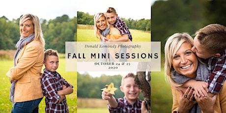 Fall Mini Photo Sessions tickets