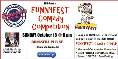 Comedy Competition - 20th Annual event bookended with 2 Headline Comedians tickets