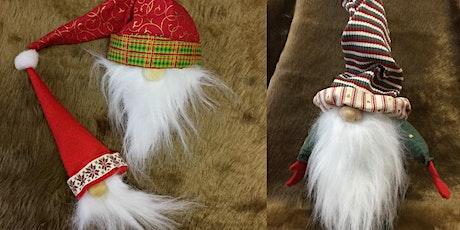 Textile Sculpture Workshop - Scandi Christmas Gnomes tickets