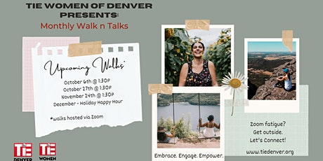 TiE Women Walk & Talk Hour tickets