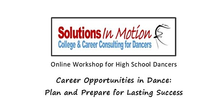 Career Opportunities in Dance: Plan and Prepare tickets