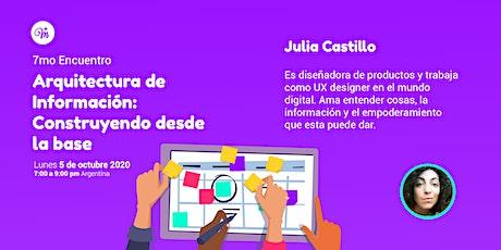7mo Encuentro de MásMujeres en UX Argentina entradas