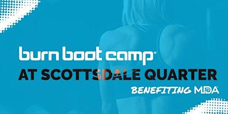 Burn Boot Camp at Scottsdale Quarter Benefiting MDA