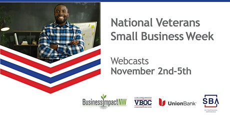 National Veteran Small Business Week tickets