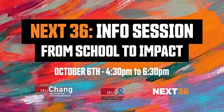 NEXT Info Session + Alumni Entrepreneurship Panel tickets