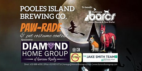 "Pooles Island ""Paw-Rade"" & Pet Costume Contest tickets"