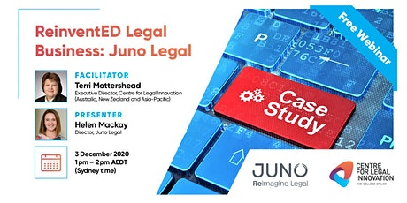 ReinventED Legal Business: The Case Studies - Juno Legal tickets