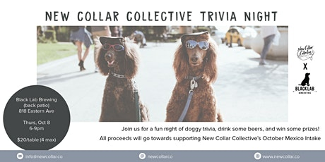 New Collar Collective x Black Lab Trivia Night tickets