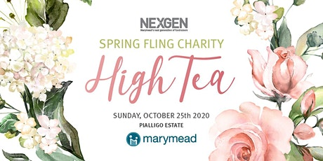 NEXGEN's Spring Fling Charity High Tea - Afternoon Session tickets